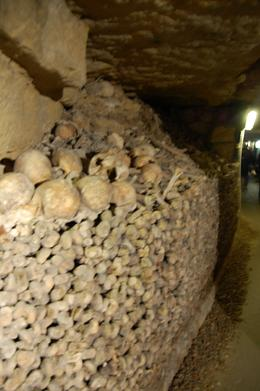 Along the long and narrow pathway of the Catacombs., Priscilla P - November 2010