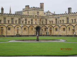 Christ Church College Quad - Oxford , Natalie F - May 2013