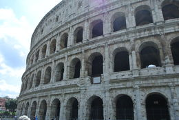 Colosseum seen from outside. , Gina M - August 2016