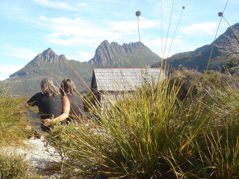Cradle Mountain Button Grass and boat house - Launceston