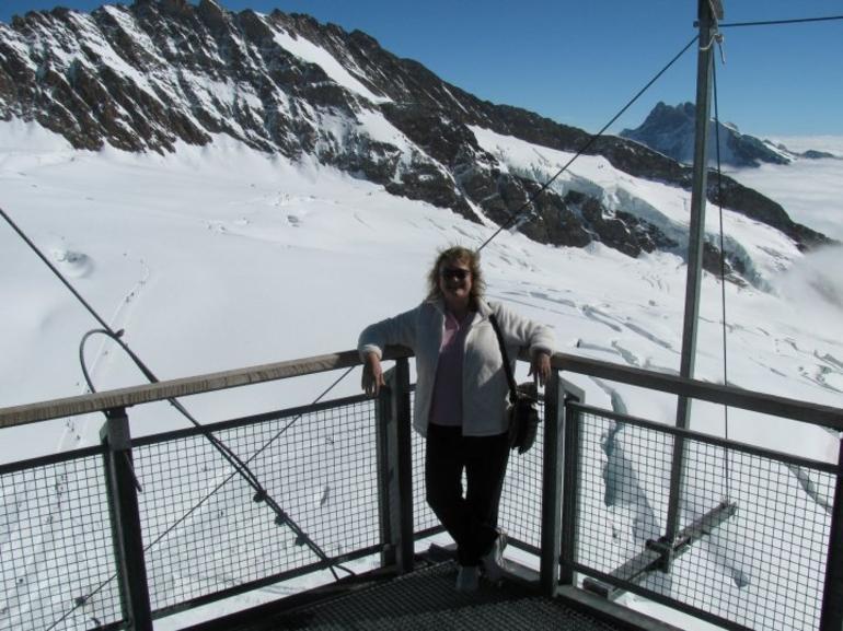 Eiger - Jungfrau Glacier Panorama View (from Zurich) - Zurich