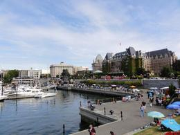 The Hotel is the anchor for the inner harbour area. The whole area is very walkable, so getting around is very easy. No need for a rental car. , John C - August 2011