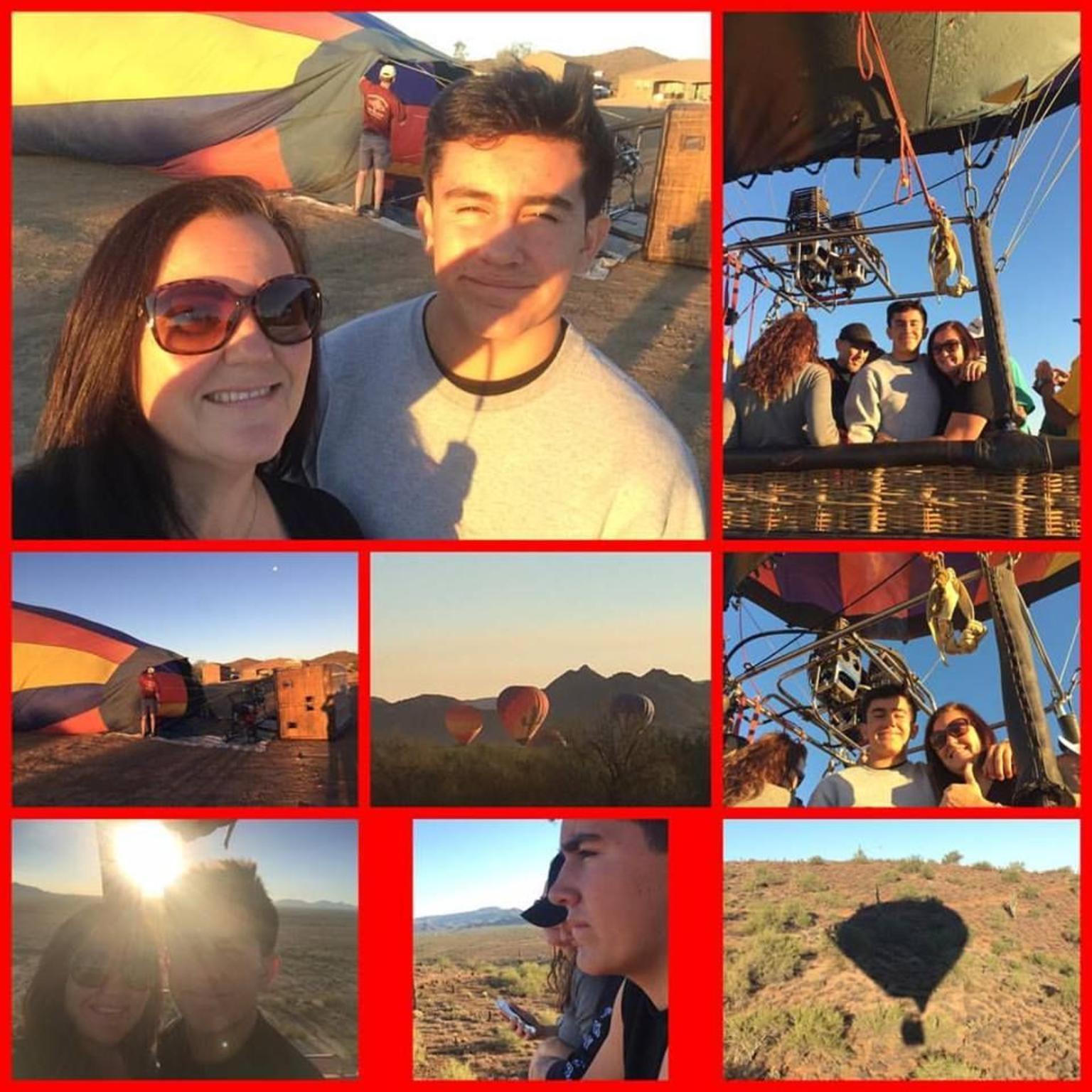 MÁS FOTOS, Paseo en globo al amanecer en el desierto de Sonora desde Phoenix