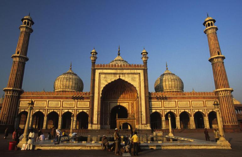 Jama Masjid Mosque, Old Delhi, India - New Delhi