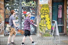 Colorful, funky and tolerant Kreuzberg. , Jini S - June 2014