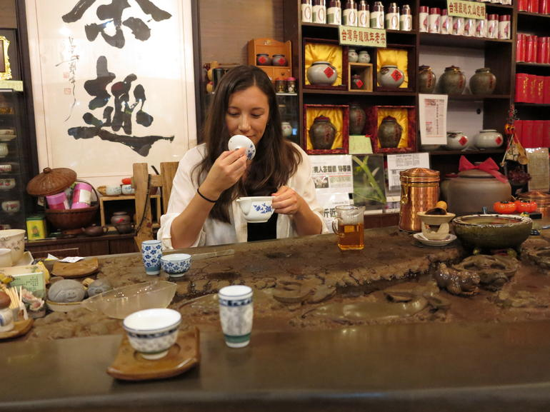 Learning to smell the tea - Shanghai