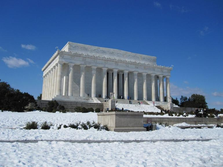 Lincoln Memorial in February 2010 - New York City