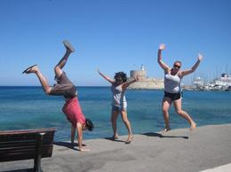 A beautiful day in Rhodes! , clairemc - December 2010