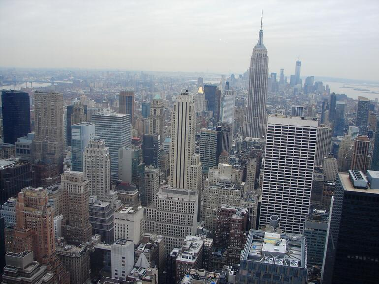 NYC from top - New York City
