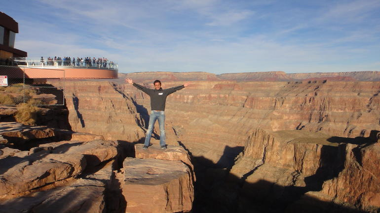 On the edge...:) - Grand Canyon National Park