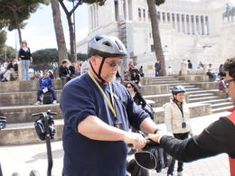 Guide teaching me how to ride the 'awesome Segway' I loved it! , Jaybird - May 2011