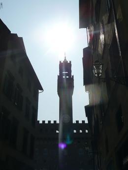 Sun Beaming Over the Palazzo Vecchio, Philippa Burne - July 2011