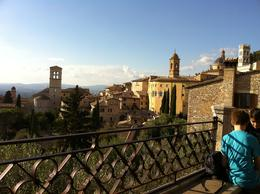 Walking in Assisi , Gilad - October 2014