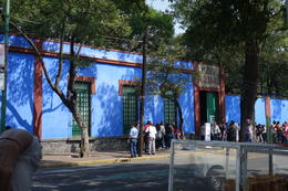 Casa Azul in Coyocan - Frida Kahlo house and musem , Debashis C - January 2017