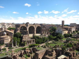 Ancient Rome from Palatine Hill , Christine O - October 2017