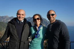On the Amalfi coast with Anotnio , kileydriskell - January 2013
