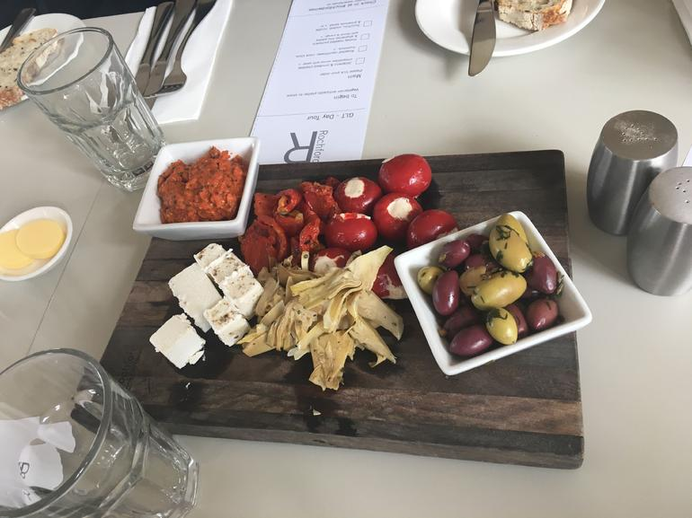 Antipasto at the winery