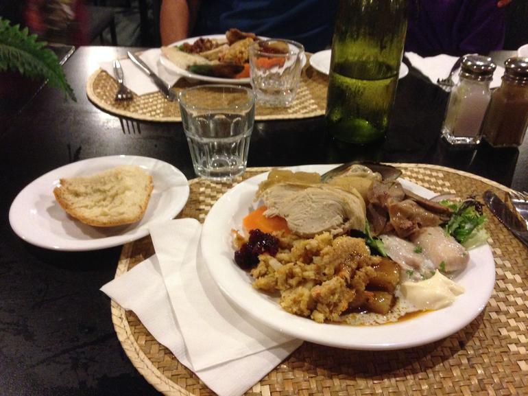 assiette de hangi - Rotorua