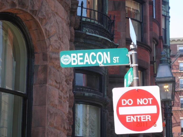 Beacon Street, across from the Boston Common - Boston