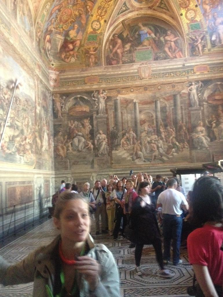 beautiful art inside - Rome