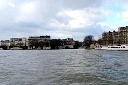 Calm waters of River Seine., Elizabeth D - February 2009