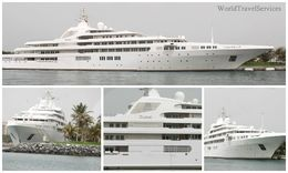 Photos of the boat owned by the Crown Prince of Dubai , Petru Rosenthorn - April 2015