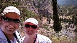 On the top off the mountain at Delphi , Eugene S - June 2014