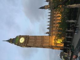 Lovely views of London at dusk during the London at Night sightseeing tour. , Leslie L - August 2016