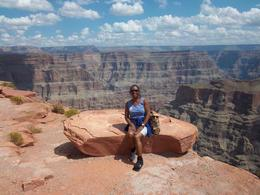 That's me...enjoying the beauty of the Grand Canyon , Kimela S - September 2012