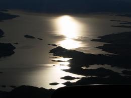 Auf dem Heimflug hatten wir einen tollen Sonnenuntergang., Michael M - February 2010