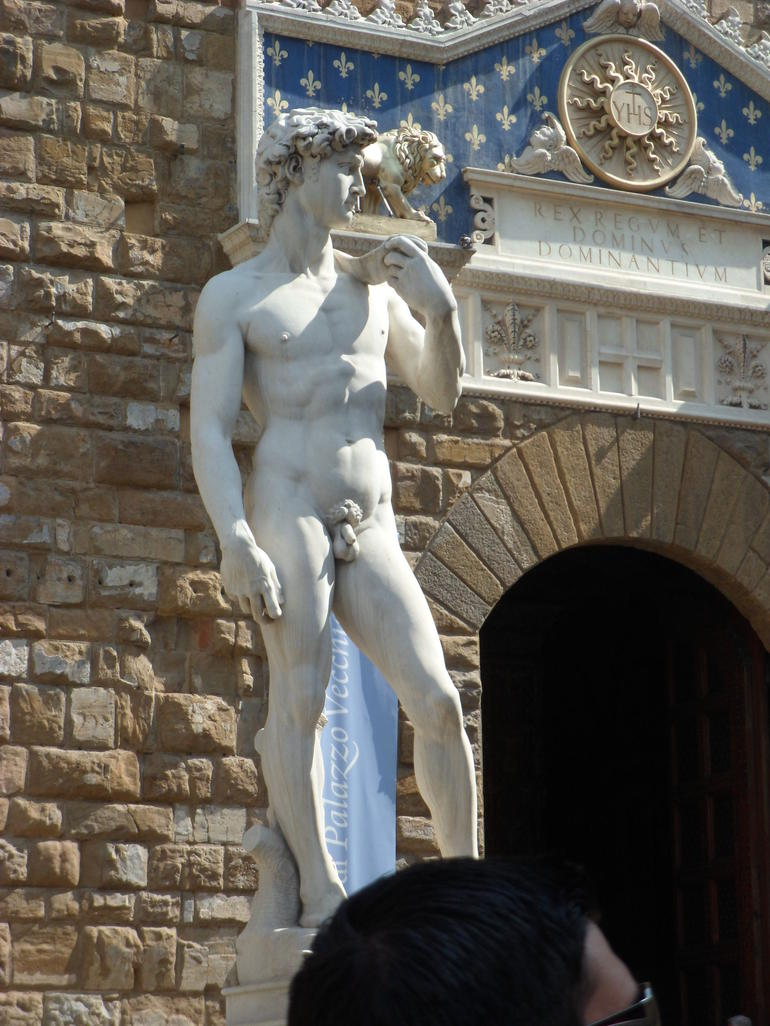 Michael Angelo's David - Rome