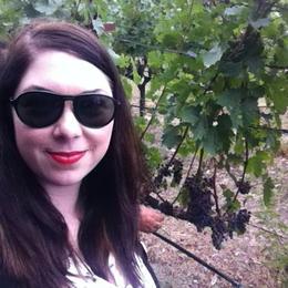 Selfie in the vineyards!, Kierra - August 2014