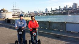 This is Jan and I on the segway. , ELAINE PRESBY E - December 2014