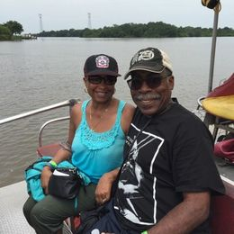 Chick Lawson Davis and Willie Davis all smiles back from the Bayou and swamp. , chicklaw - July 2016