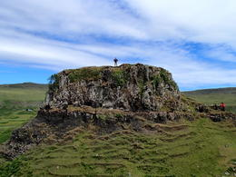 Me, atop Fairy Castle, Fairy Glen , Melissa L - July 2012
