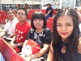 Son - Gabriel, Daughter - Janice, Husband - Wee Thian Seong, myself - Linda Chang , Boi Kui C - June 2015