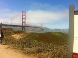 The Golden Gate bridge, Kierra - August 2014
