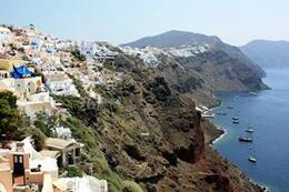 Amazing views of Santorini from Oia, SCV - March 2014