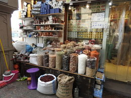 A spice shop in the souk. , Nana - July 2016
