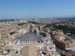 Top view from the roof of the basilica. 500+ steps, a real climb but well worth it!, Karen A - September 2010