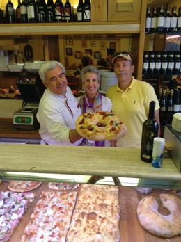 Our pizza chef, Sissy and Ron Weisbrook , Ronald W - October 2014