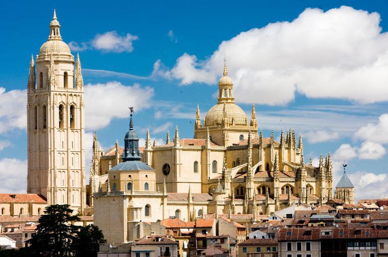 The spires of Segovia - Madrid
