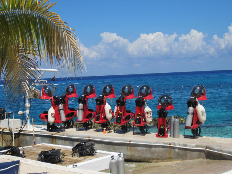 The Subs... - Cozumel