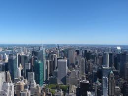 En vy mot N Manhattan med Central Park. , Rolf B - September 2013