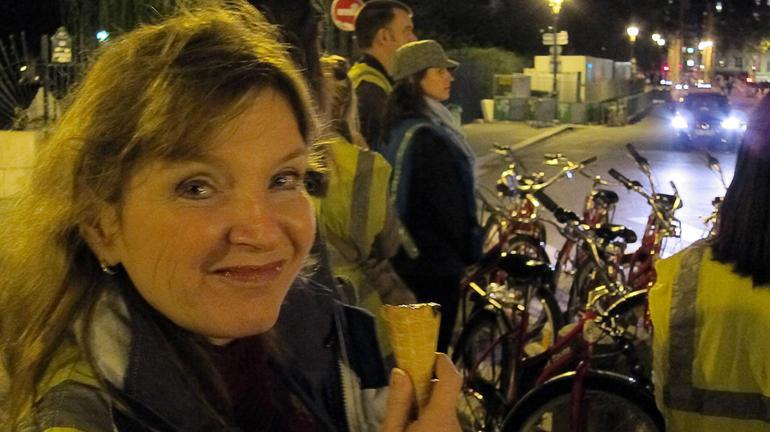 Well earned ice cream - Paris