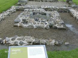 Remnant of Roman building at Vindolanda. , M D P - July 2017