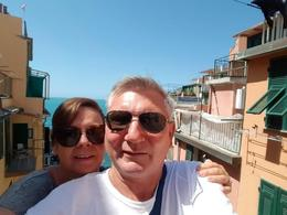 A beautiful day in Cinque Terre , sheryn&neal - July 2017