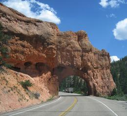 Driving through Zion , Mal - July 2017