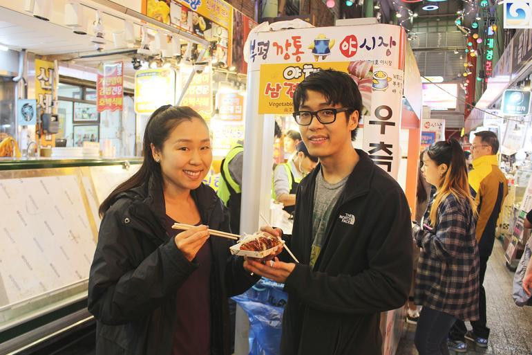 Busan Night Tour Including Night Food Market Visit