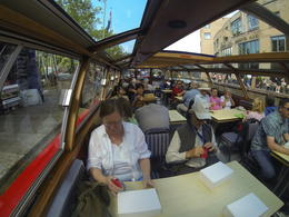 Cruise down Amsterdam canals , James W - June 2014